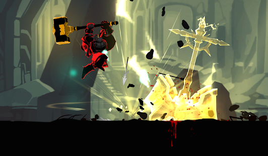 Shadow of Death: Stickman Fighting - Dark Knight Mod