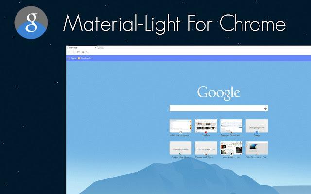 material light for chrome