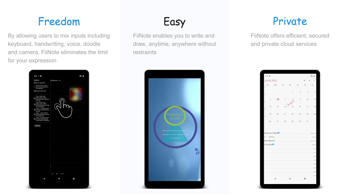 note taking apps for android FiiNote