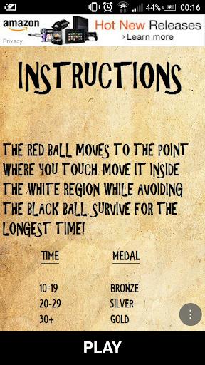 Avoid the Ball