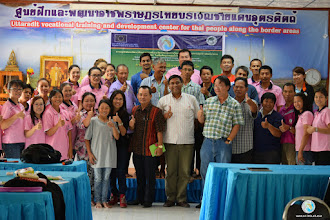 Photo: Group photo - Provincial Workshop in Tron district, Uttaradit province