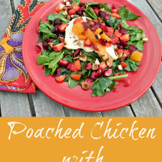 Poached Chicken with Fruit Salsa
