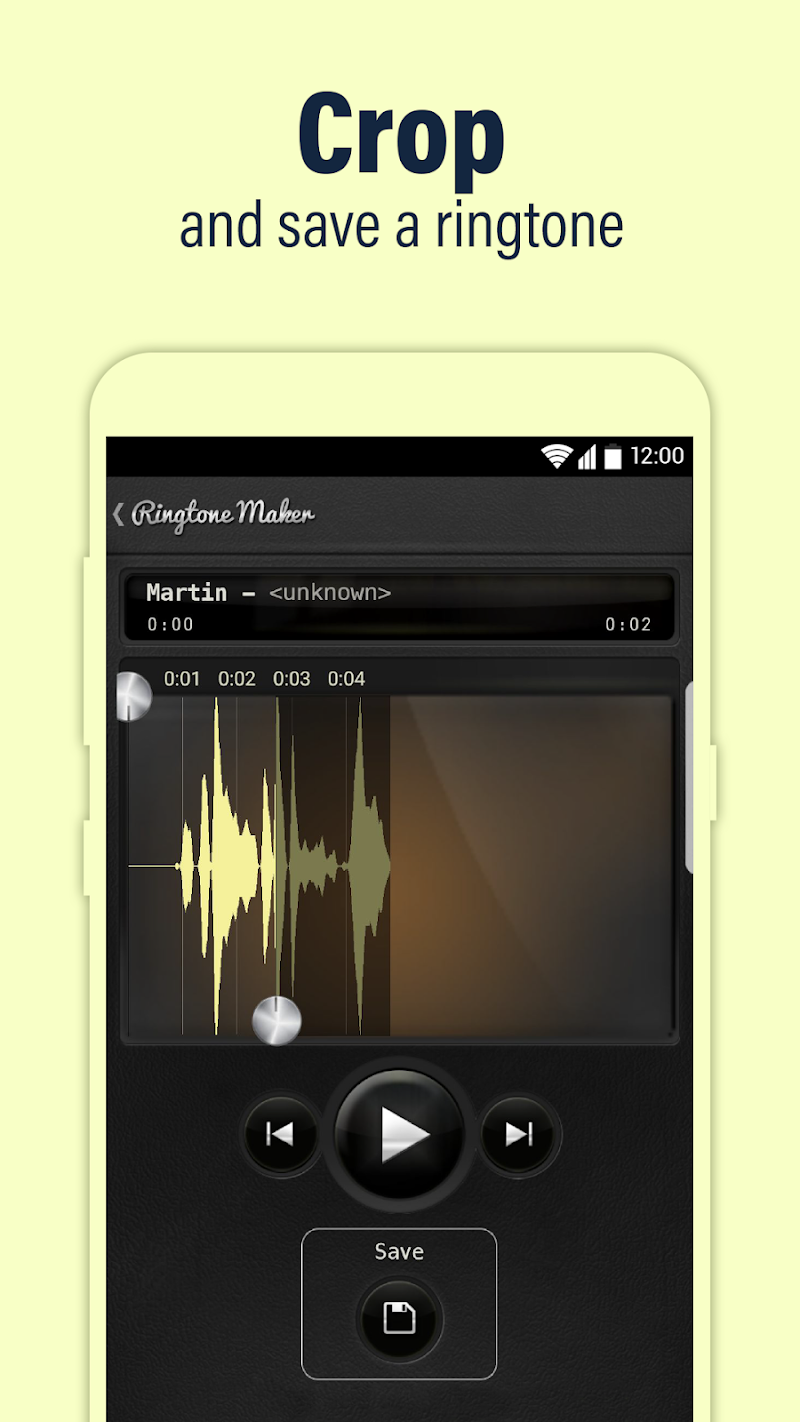 Call Ringtone Maker – MP3 & Music Cutter Screenshot 1