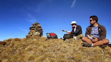 Photo: Kýžený odpočinek na vrcholu ...