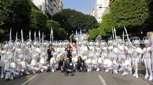 De Levante a Poniente en el desfile de Carnaval