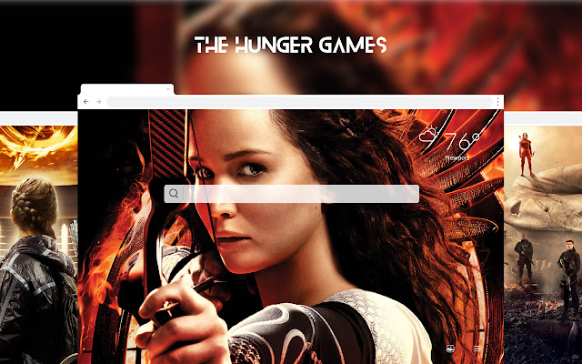The Hunger Games HD Wallpapers New Tab