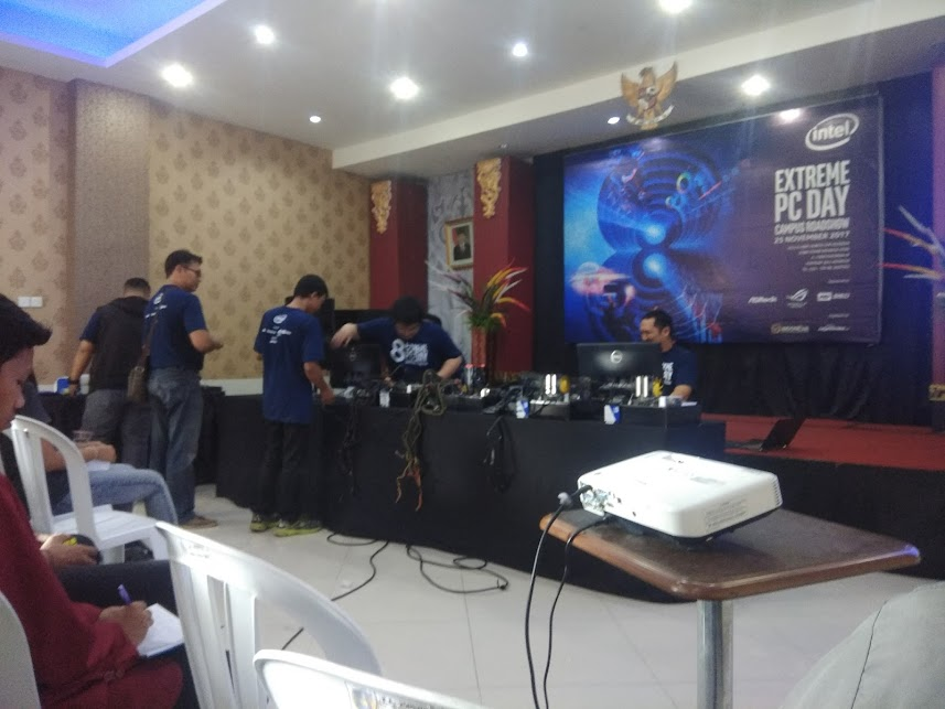 Ada cerita di Extreme PC Day Regional Bali (Extreme PC Day - Part 1)