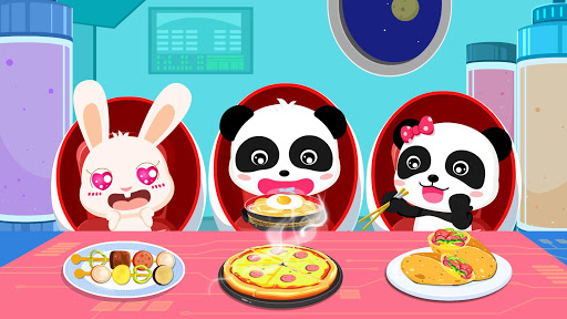 Little Pandau2019s Space Kitchen - Kids Cooking  screenshots 17