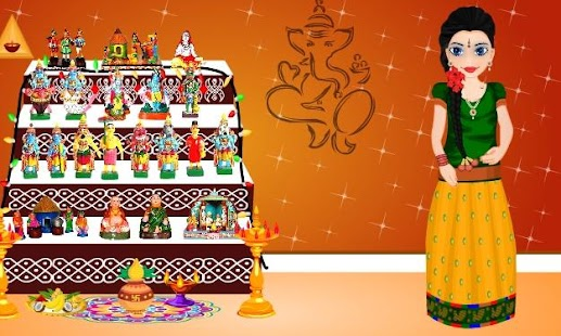 Navarathri Dussehra Dress Up - náhled