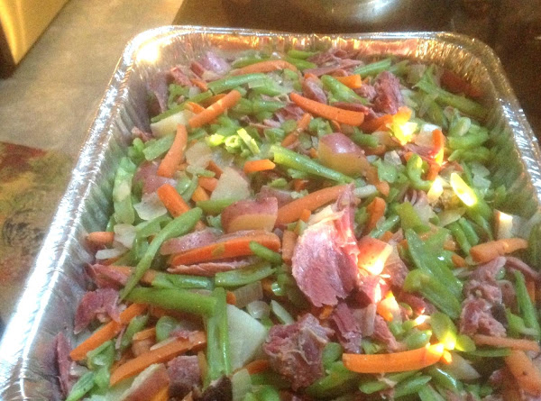 French Style Green Beans W/ Smoked Turkey Recipe