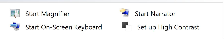 lựa chọn Start On-Screen Keyboard là có thể bật bàn phím ảo dễ dàng bằng control panel | Nguyễn Kim