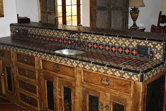 Photo: Hummingbird Nest Ranch -Tiled Bar Counter Simi Valley, CA