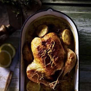 Chicken Braised in Milk with Lemon