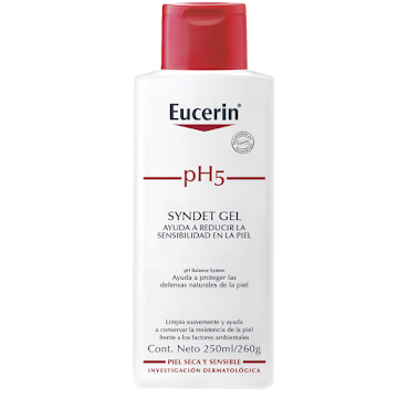 Gel EUCERIN Ph5 Syndet   sustituto jabón x250ml