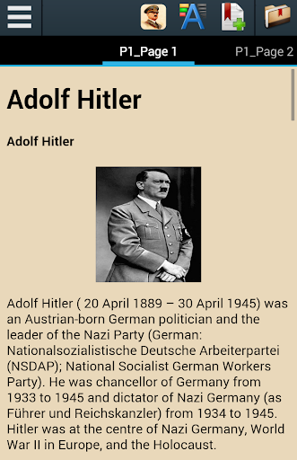 a biography of adolf hitler the leader of nazi Adolf hitler (1889 - 1945) and the austrian pan-german leader  hitler becomes a leader hitler discovered a powerful talent for oratory as well as giving the.