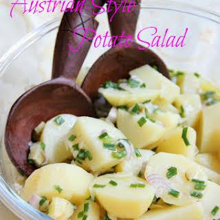 Austrian-Style Potato Salad.