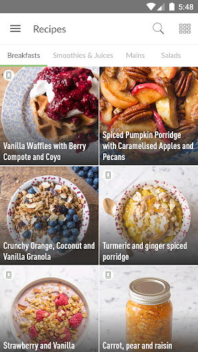 Screenshot for Deliciously Ella in United States Play Store