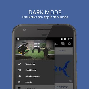 Active pro for Facebook Screenshot