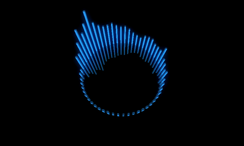 AudioBars Visualizer LWP- screenshot