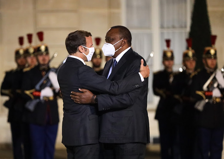 Uhuru kicks off official visit to France
