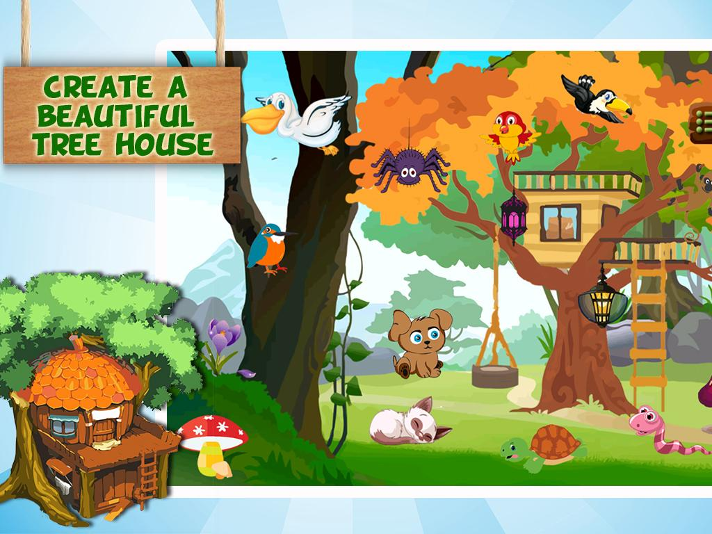Tree House Design Decoration Treehouse Games Android Apps On Google Play