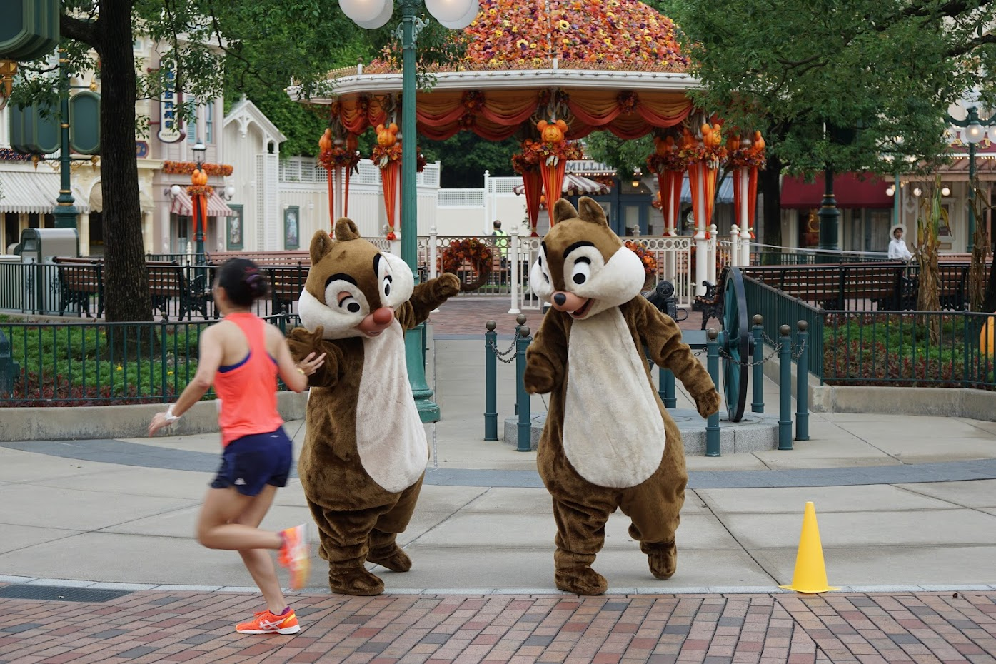 Hong Kong Disneyland 10k weekend