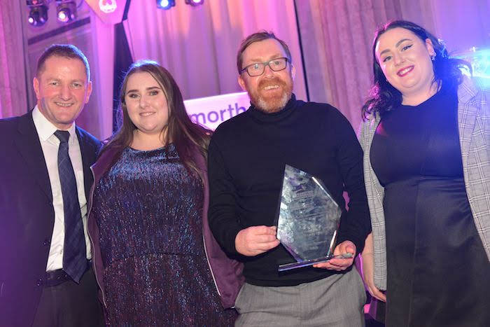 Award for local 'detached youth work team'