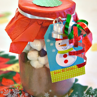 Snowman Soup in a Jar DIY