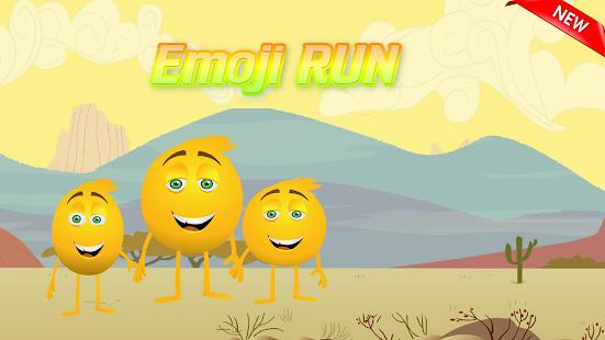 Emoji Running - náhled