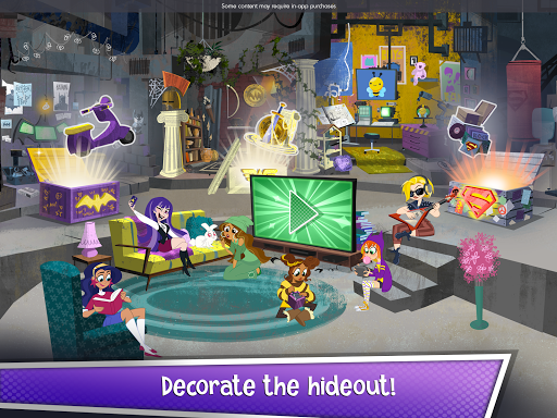 DC Super Hero Girls Blitz - screenshot