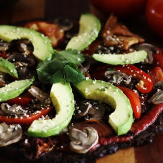 Ultimate Raw Vegan Pizza (Low-Fat, Oil-Free, Salt-Free).