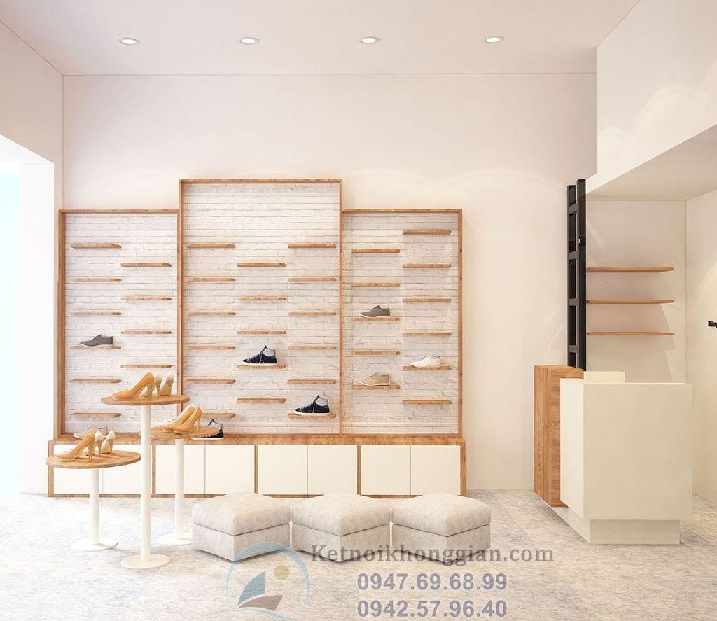 thiết kế shop giày dép thời trang nữ