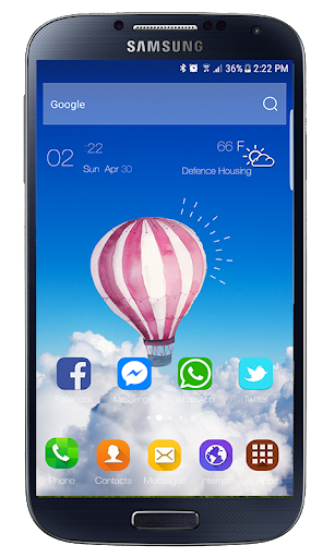 Samsung Galaxy Note20 Launcher Theme ss1
