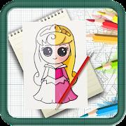 Learn To Draw Chibi Disney Princess Step by Step icon