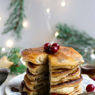 Rum & Raisin Pancakes.