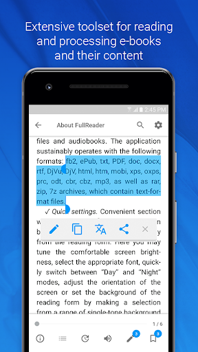 FullReader – e-book reader 4.0.7 screenshots 4