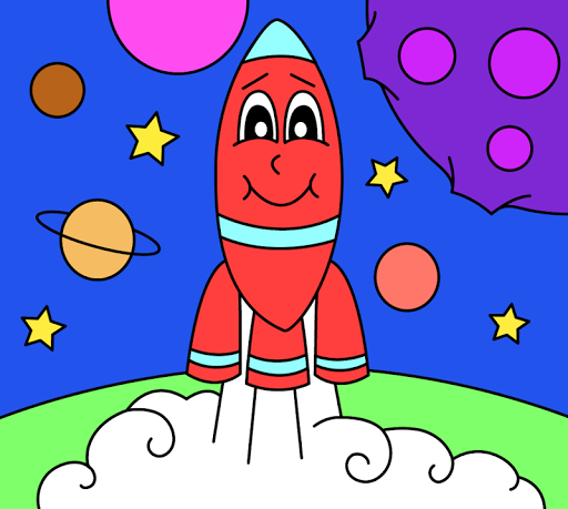 Coloring pages for children : transport  screenshots 7