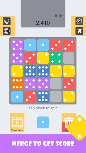 Match Match- blocks merged game - screenshot