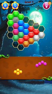 Hexagonal Block Puzzle - náhled
