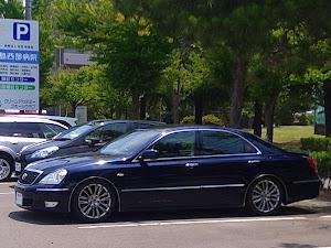 クラウンマジェスタ UZS186 Cタイプ  後期 19年式  紺色(8P8)のカスタム事例画像 シマ蔵さんの2021年06月14日13:08の投稿