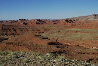 Photo: Looking Northwest and seeing the old overland Drill Hole mine road.