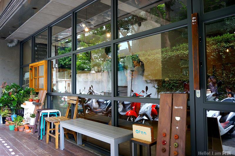 Haritts東京甜甜圈,勤美綠園道下午茶-2
