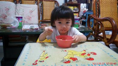 Photo: 吃早餐囉..