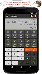 TechCalc Calculadora Científica 1