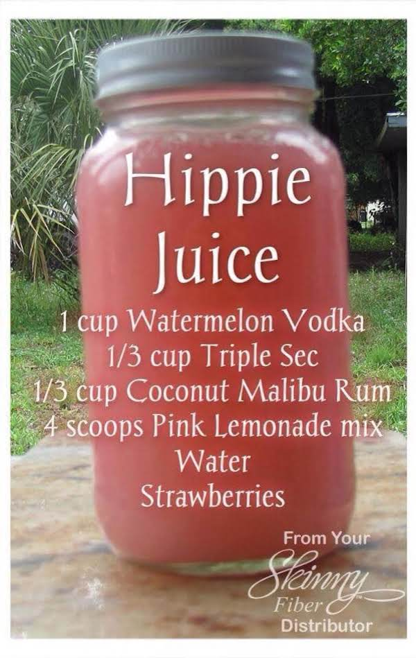 Hippie Juice Just A Pinch Recipes
