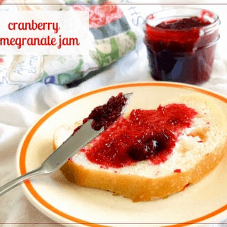 Spicy (or not) Pomegranate Cranberry Jam.