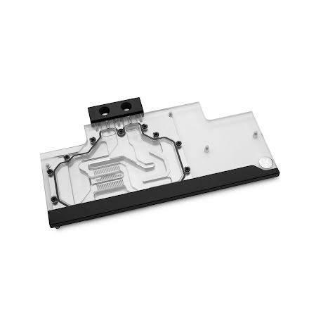 EK vannblokk for skjermkort, EK-FC Trio RTX 2080 Ti Classic RGB – Nickel+Plexi