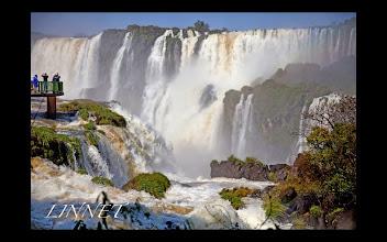 Photo: イグアスの滝 悪魔の喉笛付近 Iguazu Falls