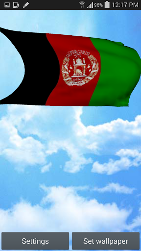 Afghanistan Flag Wallpaper