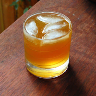 Apricot Rum Fizz.